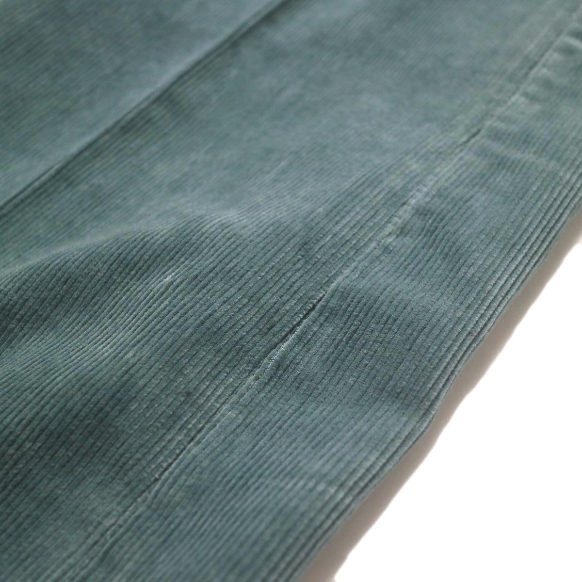 JANE SMITH / 5POCKET BOOTSCUT (jade green) 生地