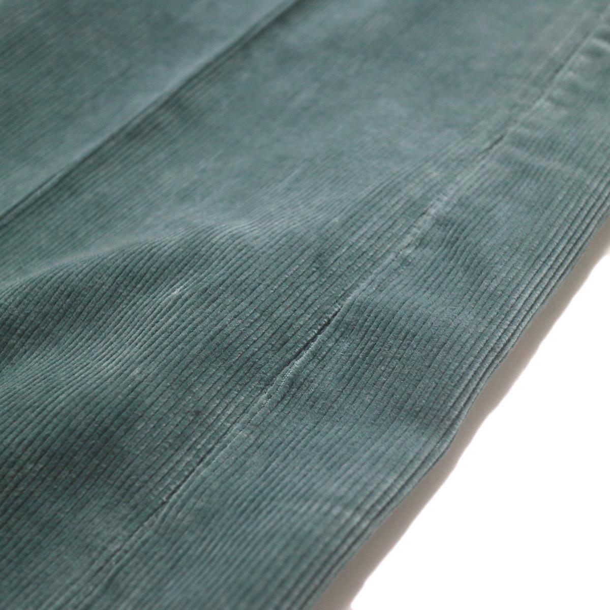 JANE SMITH / 5POCKET BOOTSCUT (jade green) 生地