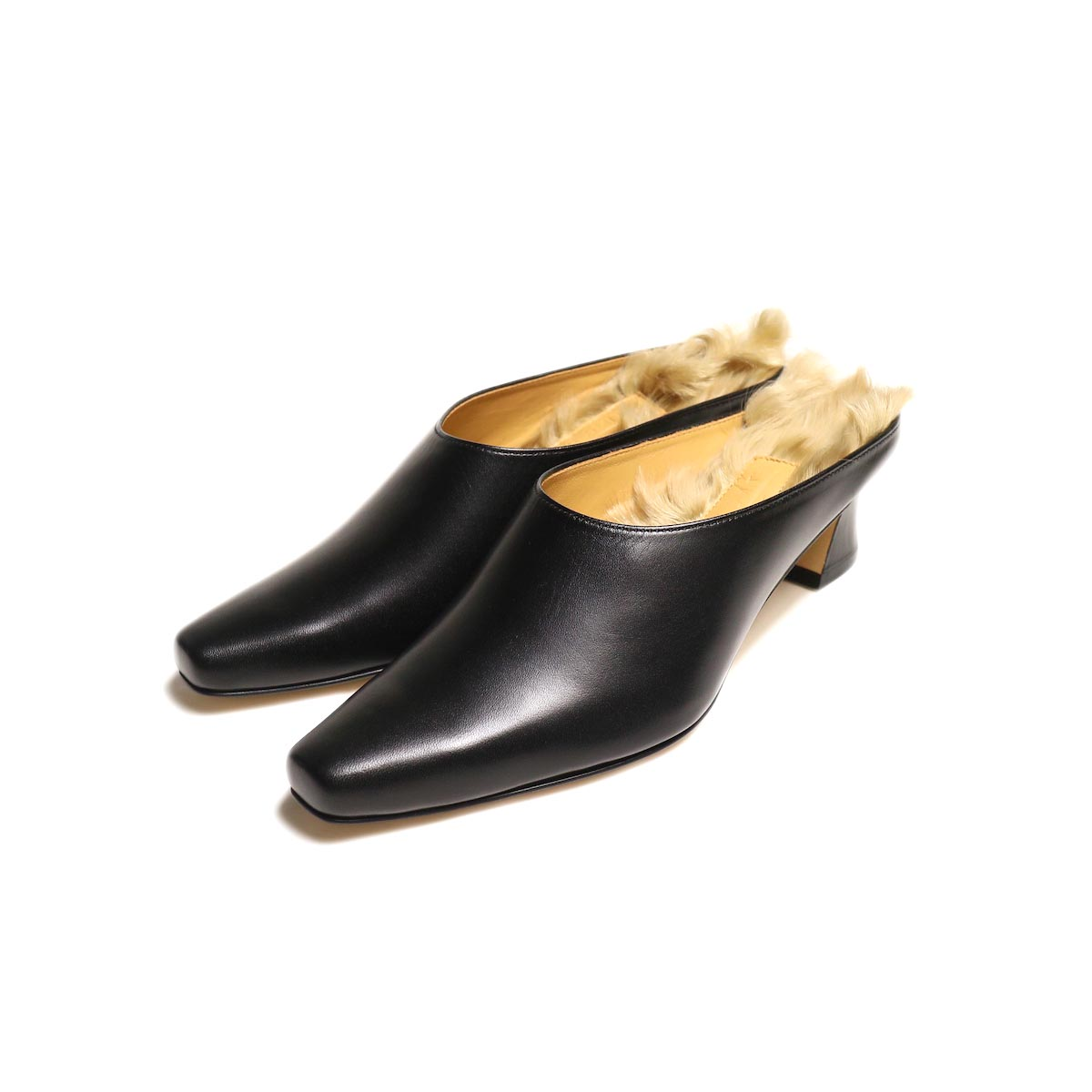 JANE SMITH / INSOLE FUR MULE -Black