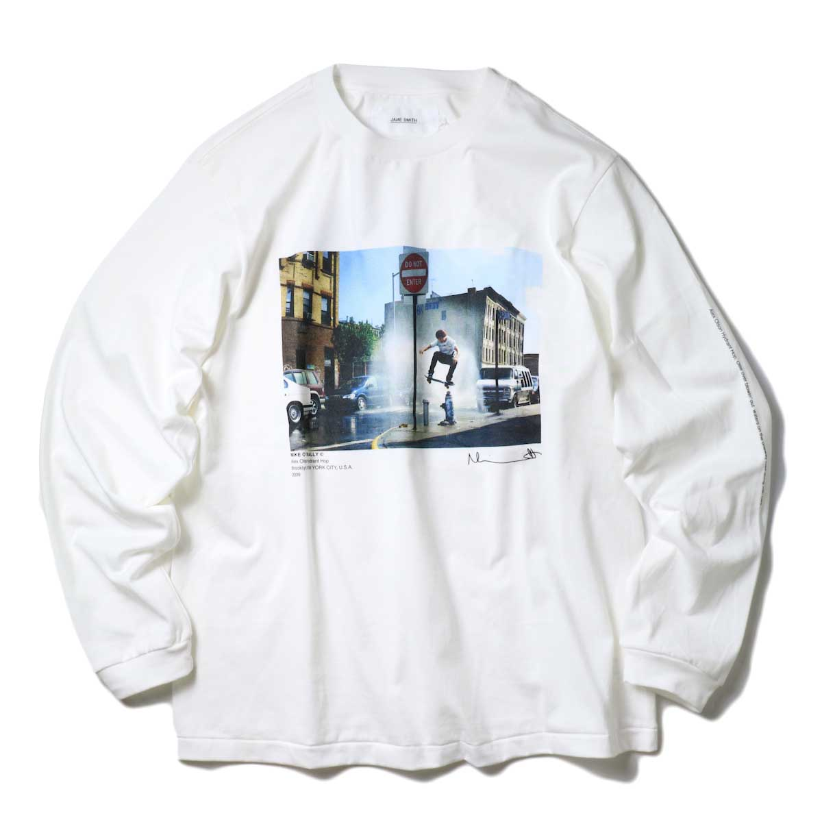JANE SMITH / HYDRANT HOP L/S T-SHIRT