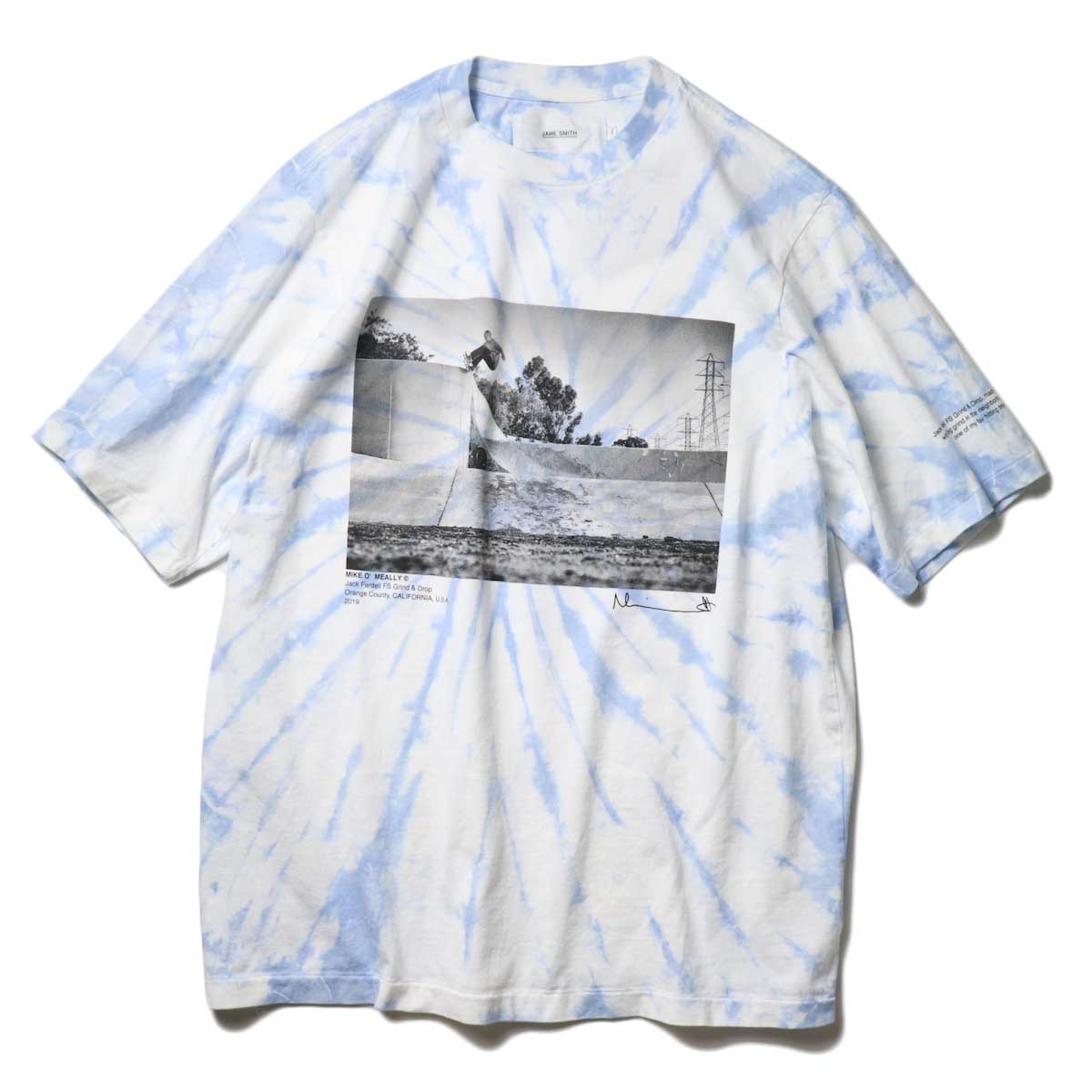 JANE SMITH / JACK FARDELL GRIND & DROP S/S T-SHIRT (Sax)