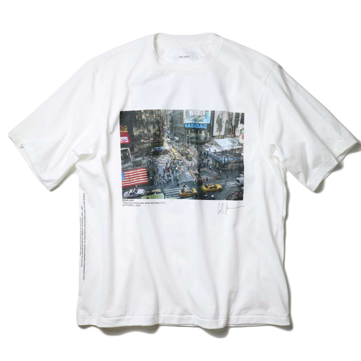 JANE SMITH / TIMES SQUARE S/S T-SHIRT