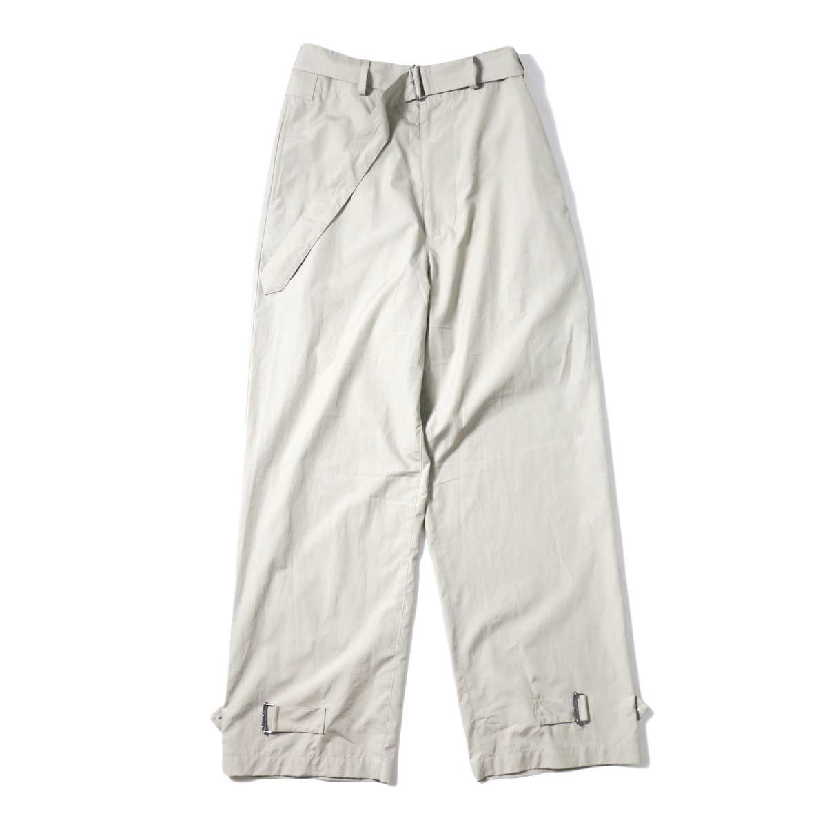 JANE SMITH / BELT ARMY PANRS (Beige) 正面②