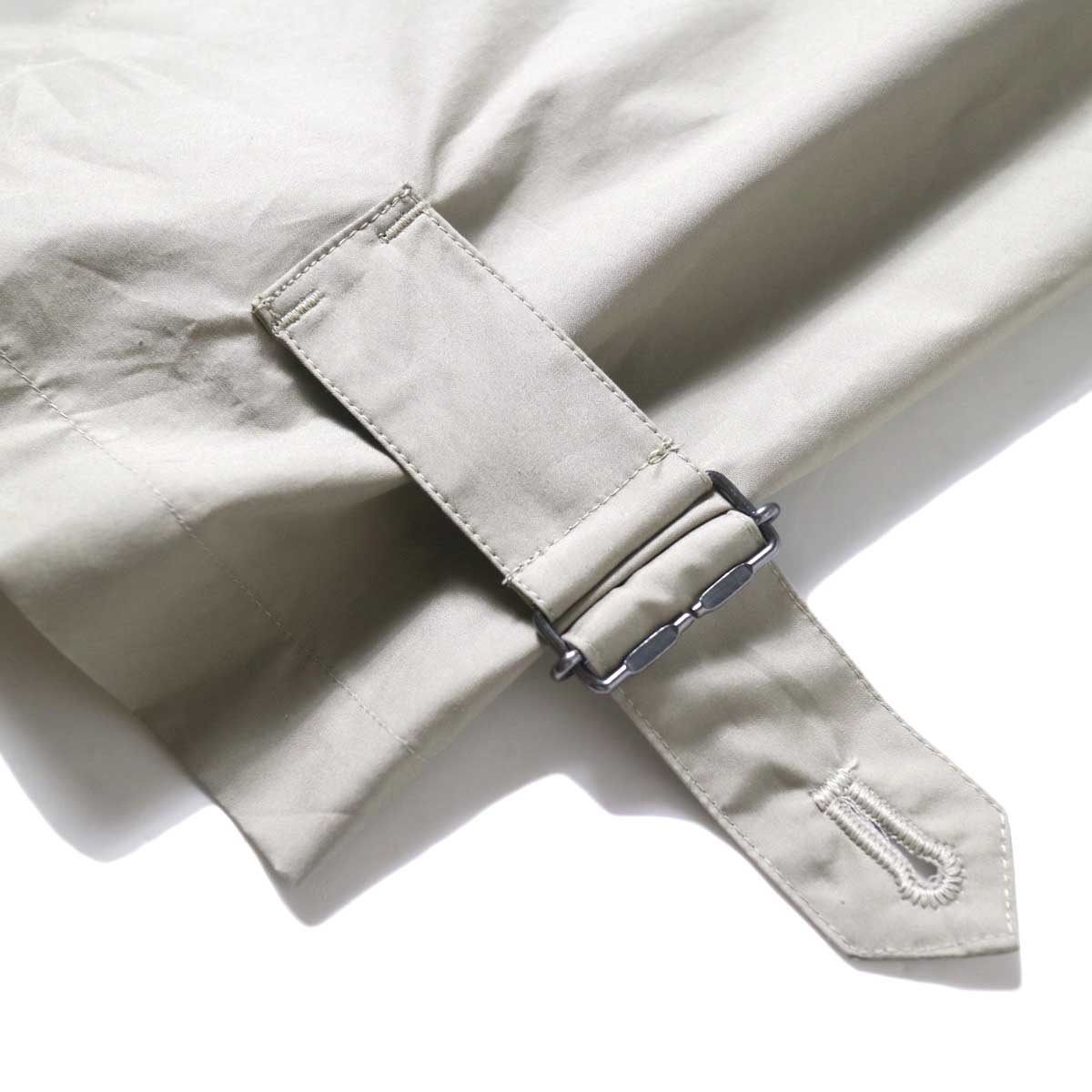 JANE SMITH / BELT ARMY PANRS (Beige) 裾①