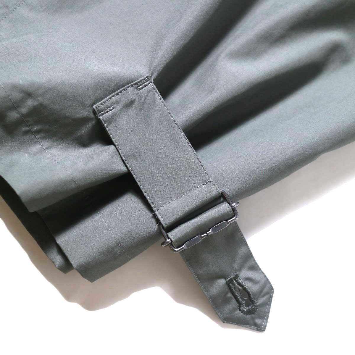 JANE SMITH / BELT ARMY PANRS (Army Green) 裾①