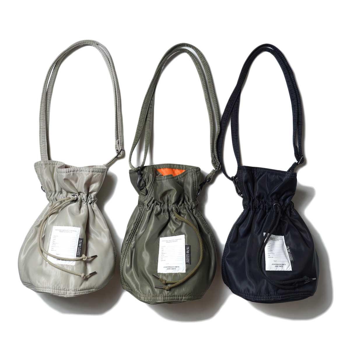 JANE SMITH / Kinchaku Shoulder Strap Bag