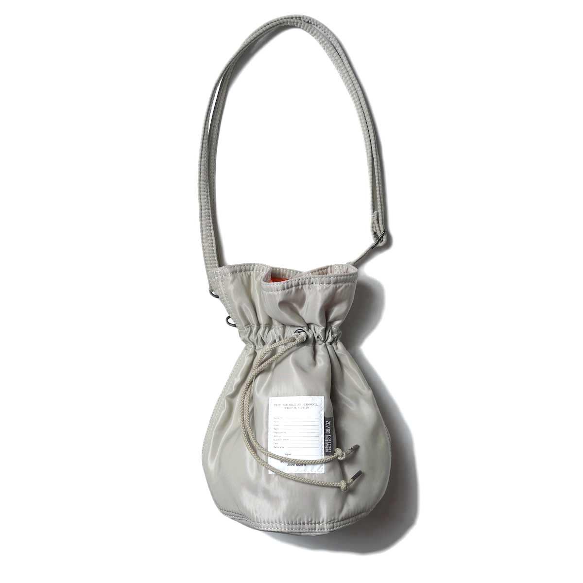 JANE SMITH / Kinchaku Shoulder Strap Bag (Beige)