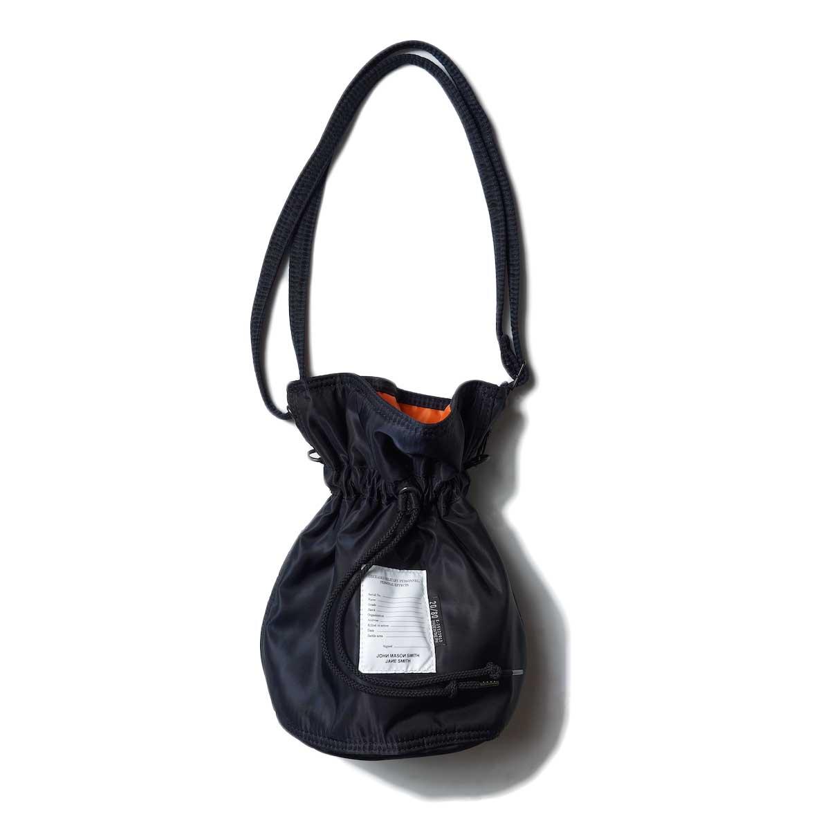 JANE SMITH / Kinchaku Shoulder Strap Bag (Black)