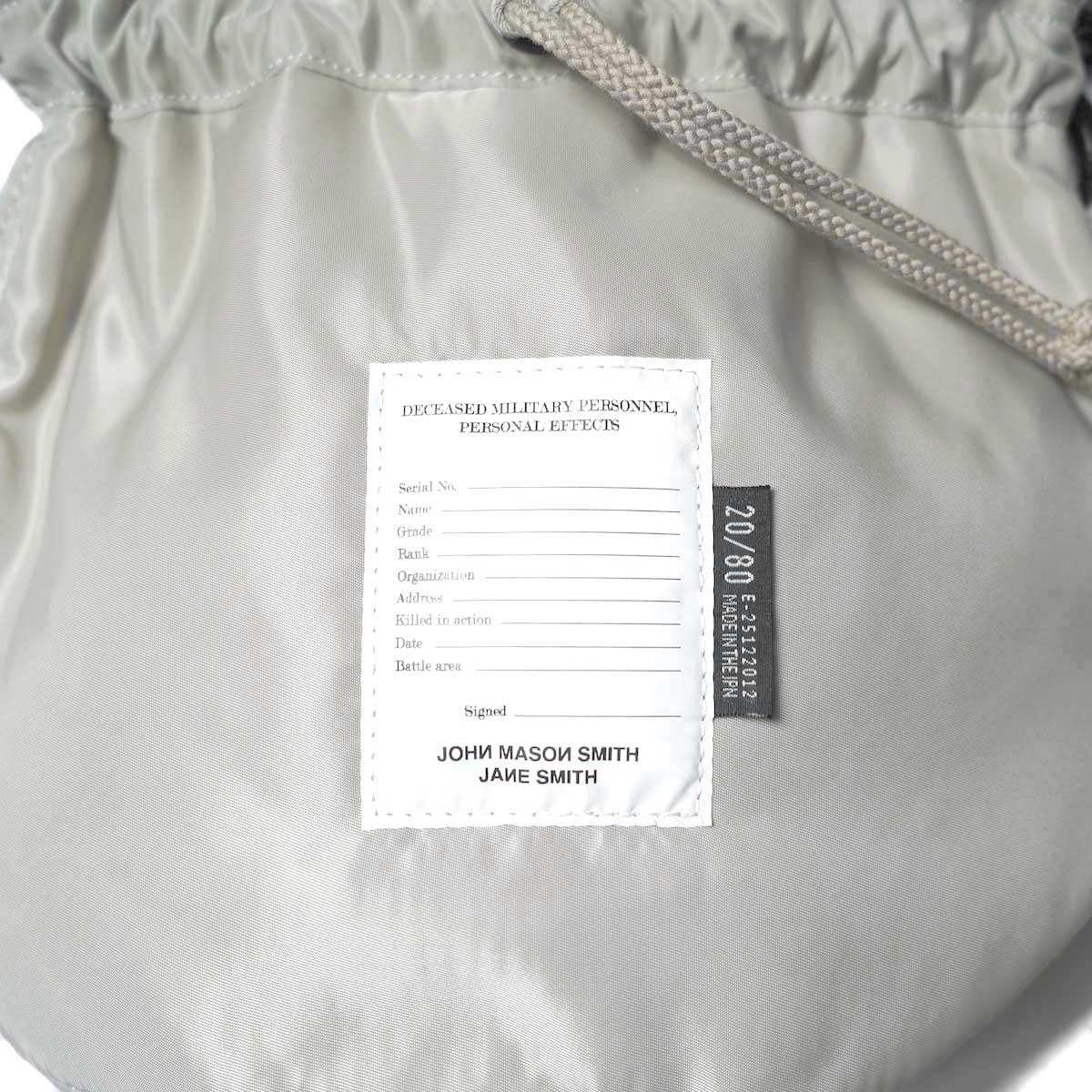 JANE SMITH / Kinchaku Shoulder Strap Bag フロント