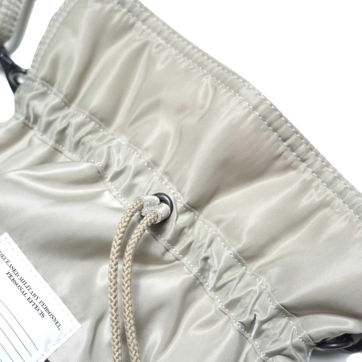 JANE SMITH / Kinchaku Shoulder Strap Bag ドローコード