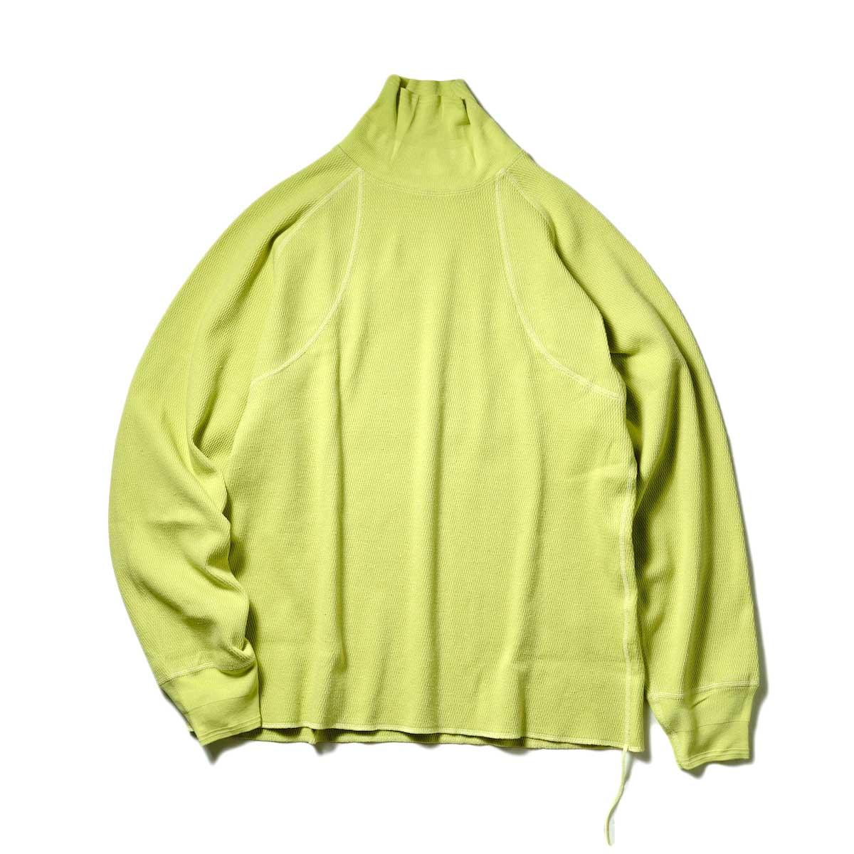 JANE SMITH / HONYCONB DOUBLE RAGLAN HIGH NECK (Neon)