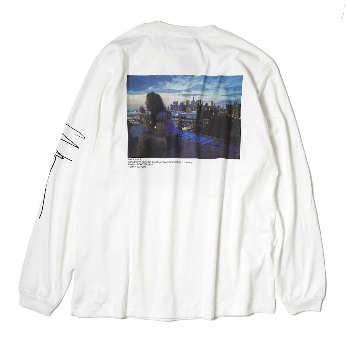 JANE SMITH / MY SON & WAITING FOR FIREWORKS L/S T-Shirt 背面