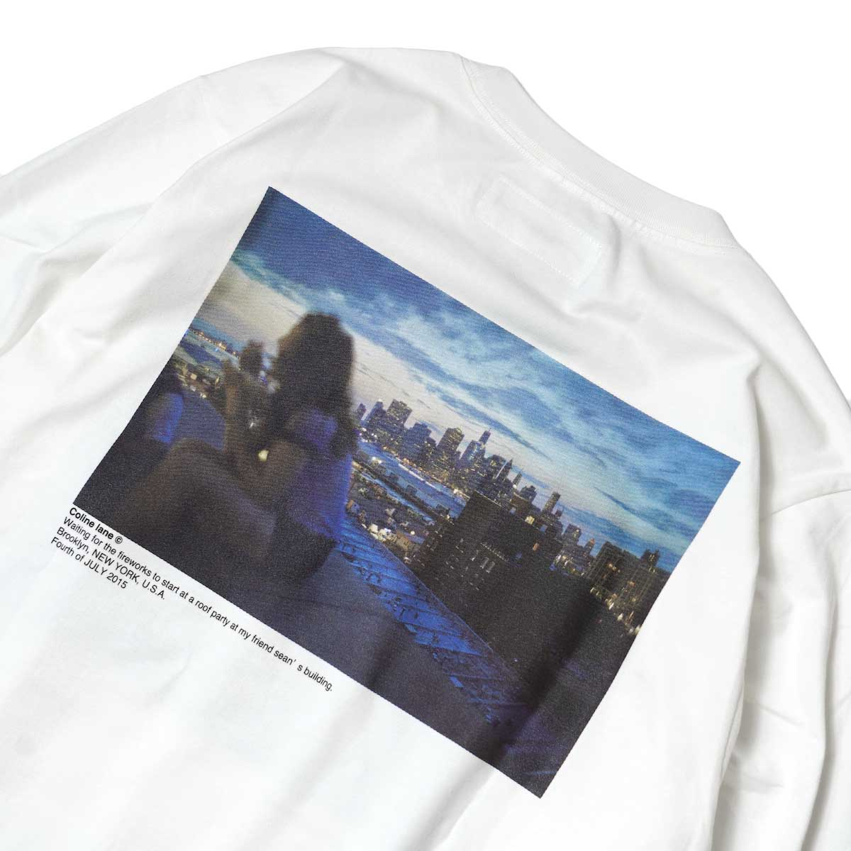 JANE SMITH / MY SON & WAITING FOR FIREWORKS L/S T-Shirt 背面プリント