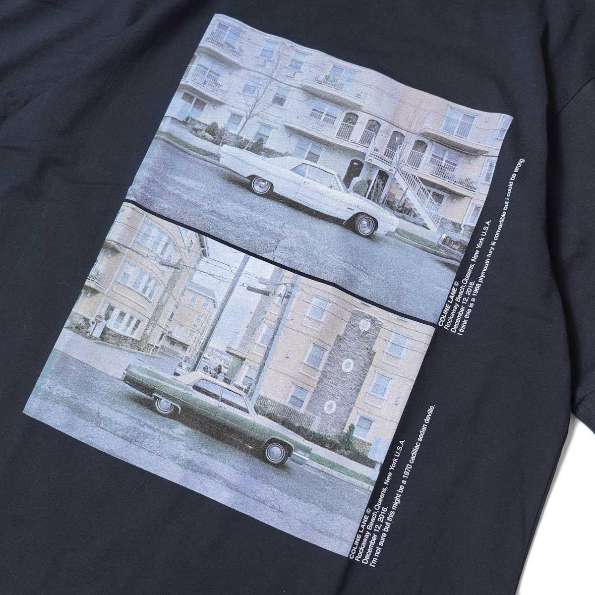 JANE SMITH / CADILLAC PLYMOUTH S/S T-Shirt (Black) フロントプリント