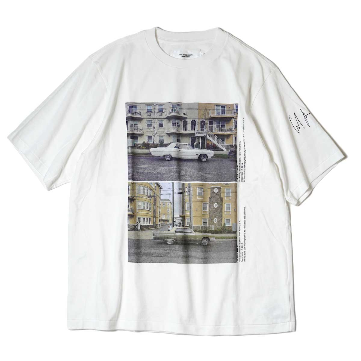 JANE SMITH / CADILLAC PLYMOUTH S/S T-Shirt (White)