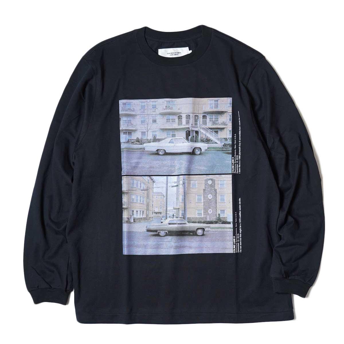 JANE SMITH / CADILLAC PLYMOUTH L/S T-Shirt (Black)