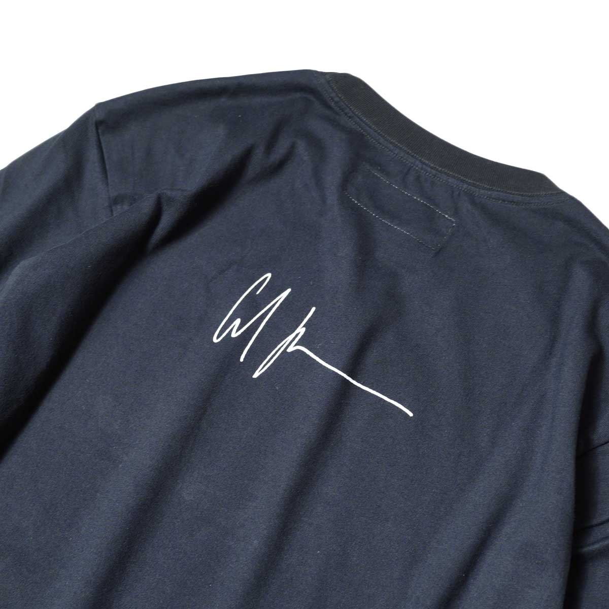 JANE SMITH / CADILLAC PLYMOUTH L/S T-Shirt (Black) 背面プリント