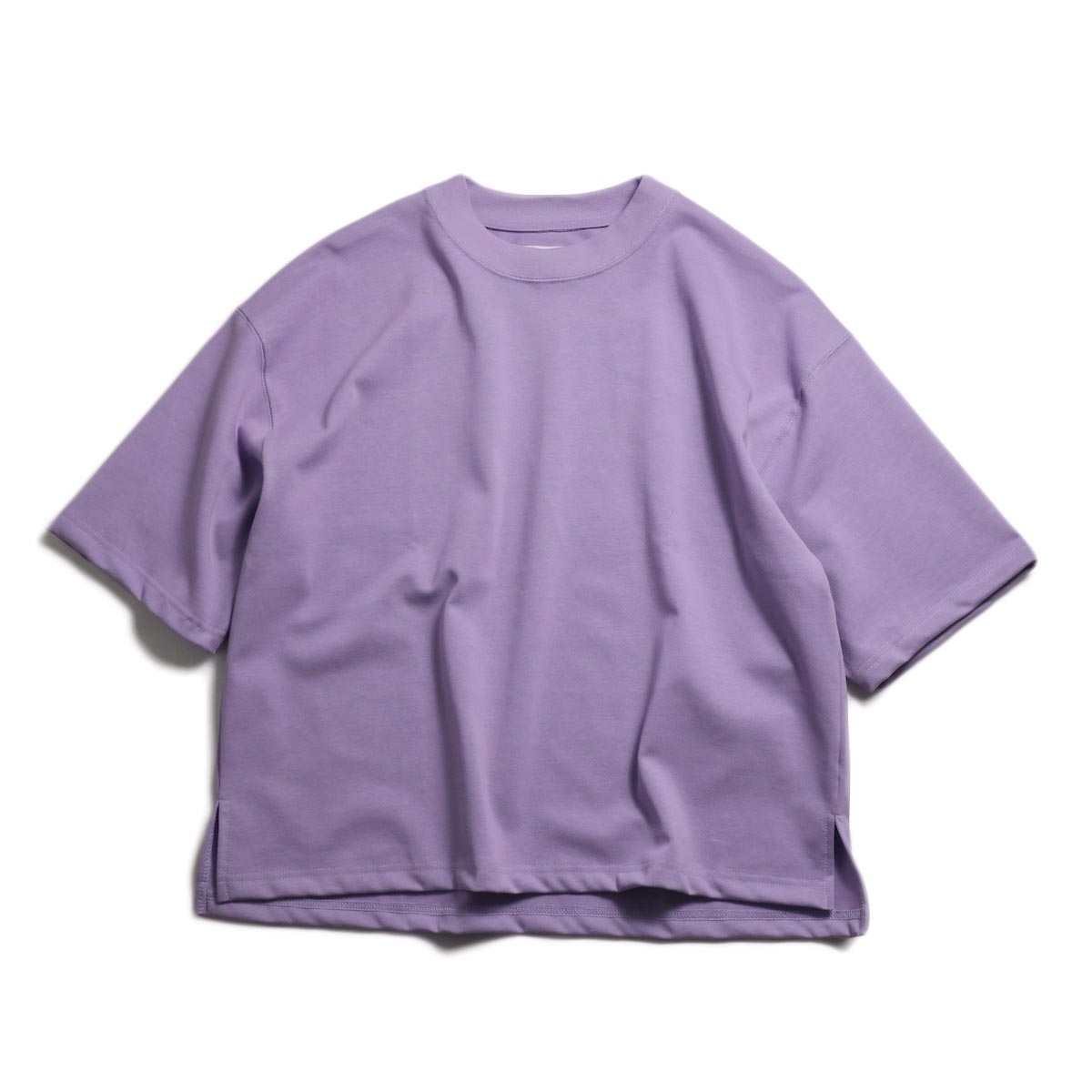 JANE SMITH / Big T Shirt -Purple