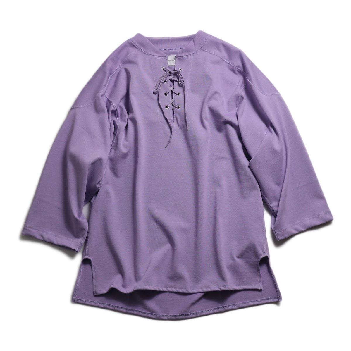 JANE SMITH / Lace Up Football -Purple