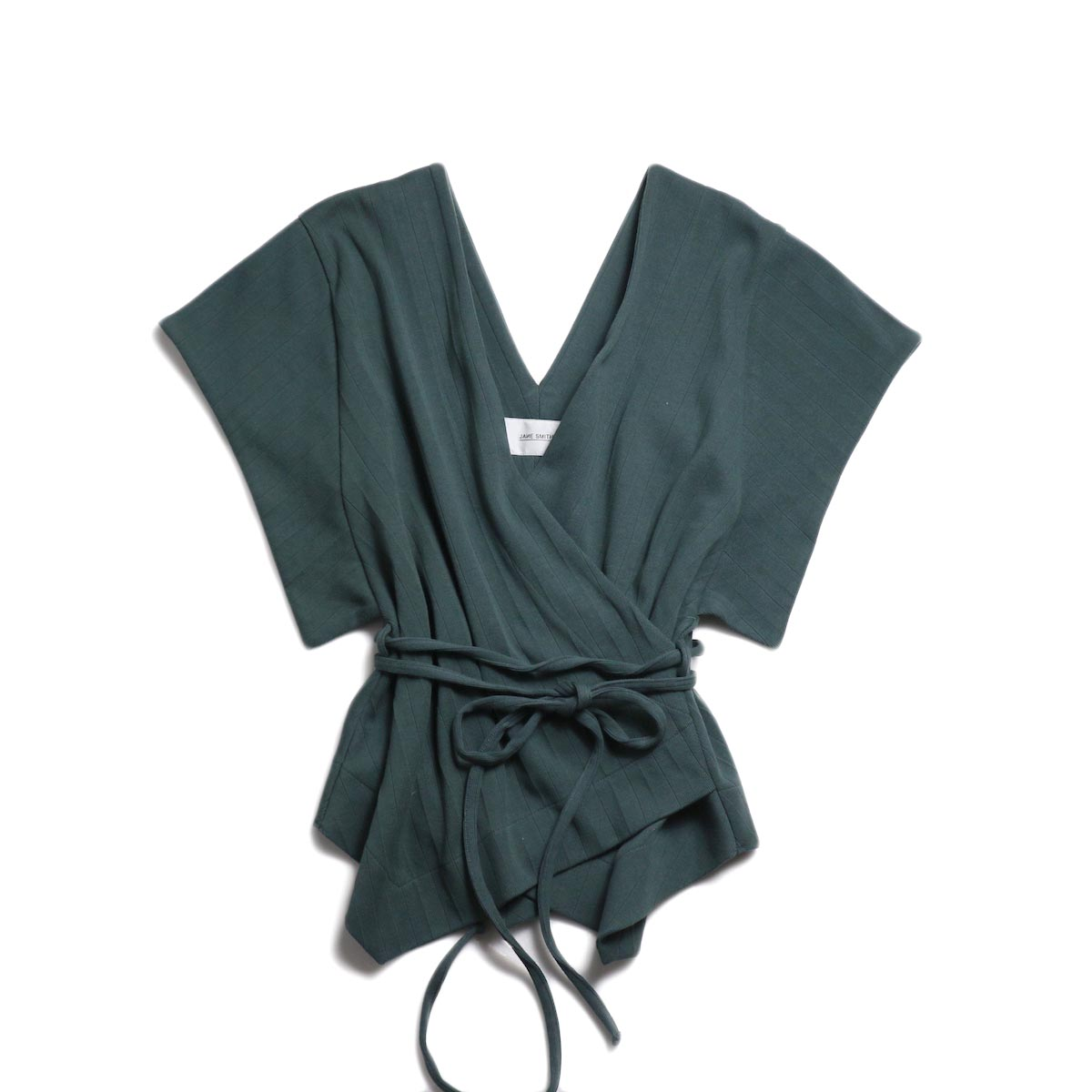 JANE SMITH / Cachecoeur Vest -Green 正面
