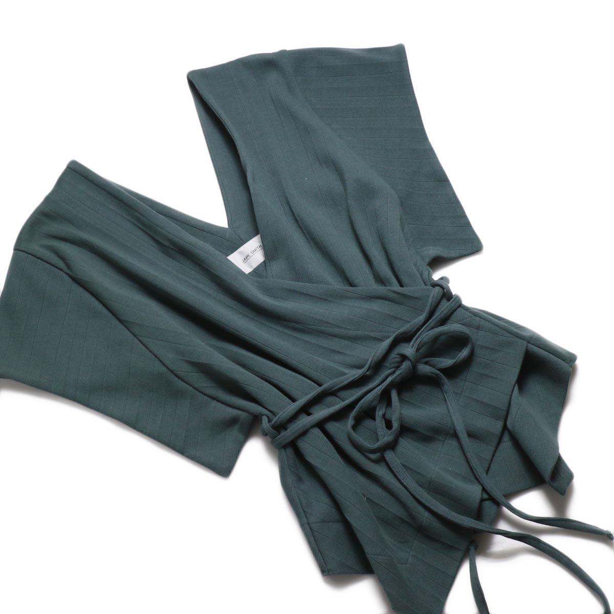 JANE SMITH / Cachecoeur Vest -Green ナナメ