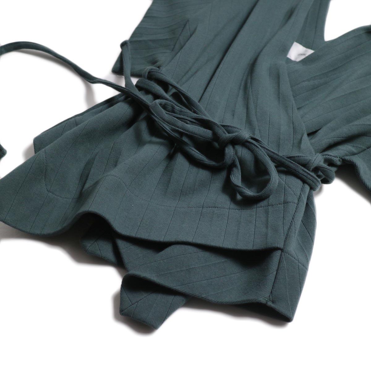 JANE SMITH / Cachecoeur Vest -Green 裾