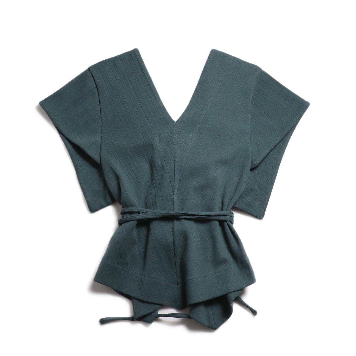 JANE SMITH / Cachecoeur Vest -Green 背面