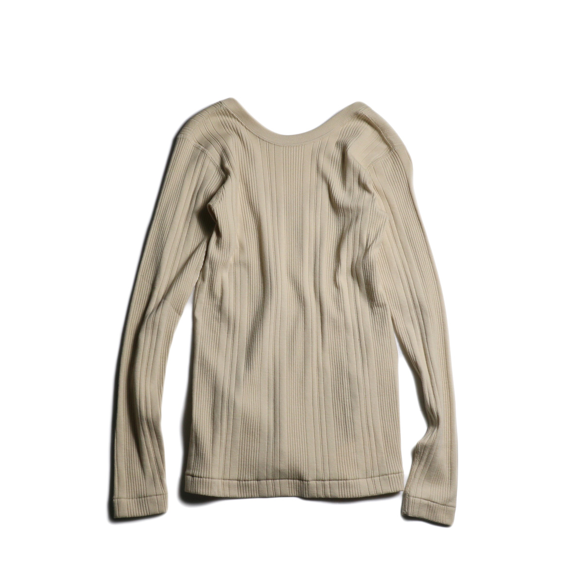 JANE SMITH / BACK OPEN PULLOVER (Beige)