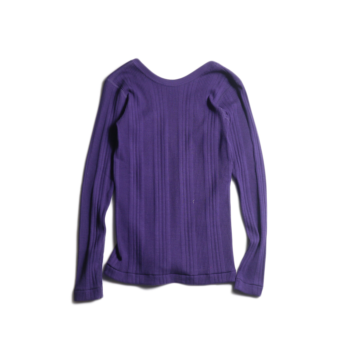 JANE SMITH / BACK OPEN PULLOVER (Purple)