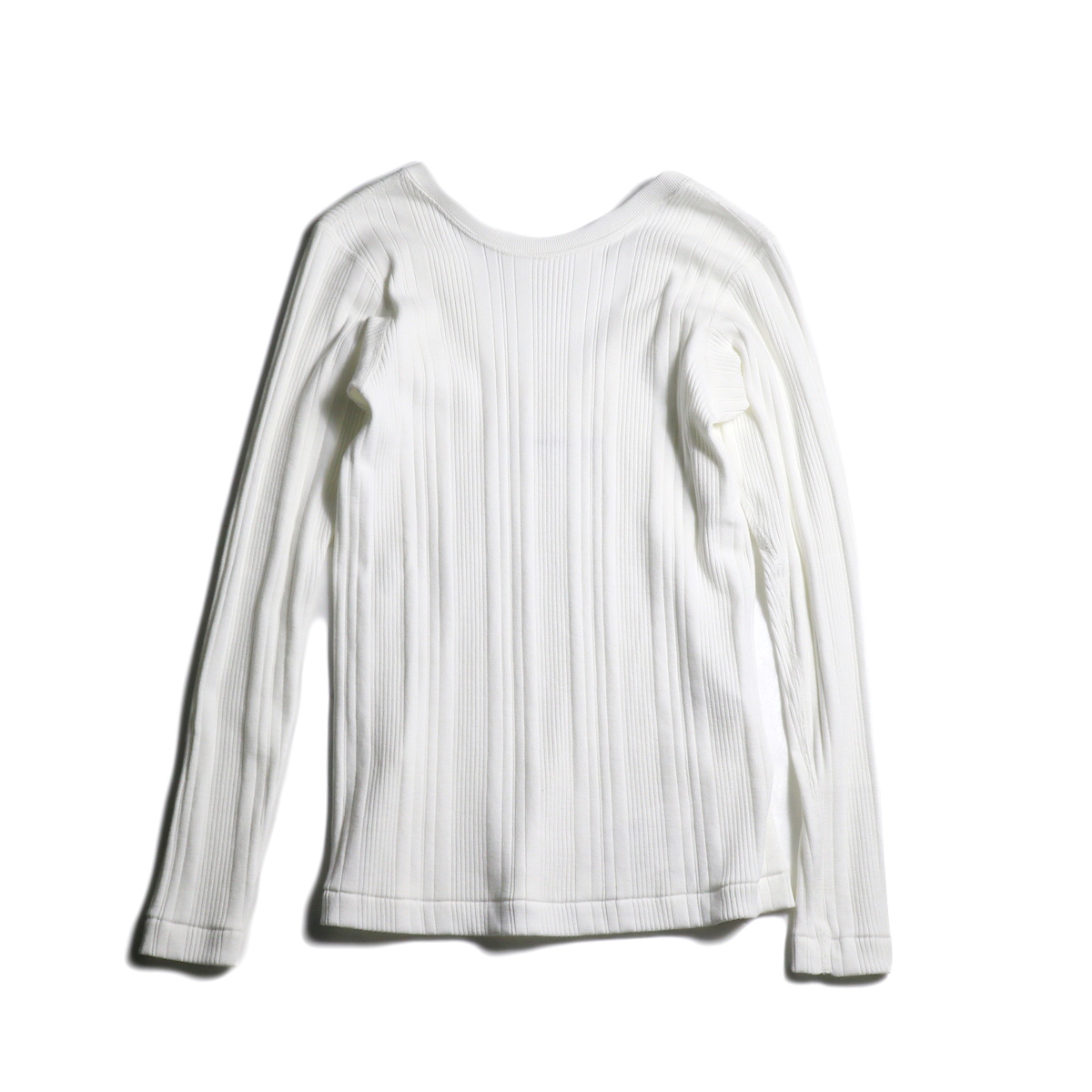 JANE SMITH / BACK OPEN PULLOVER (White)