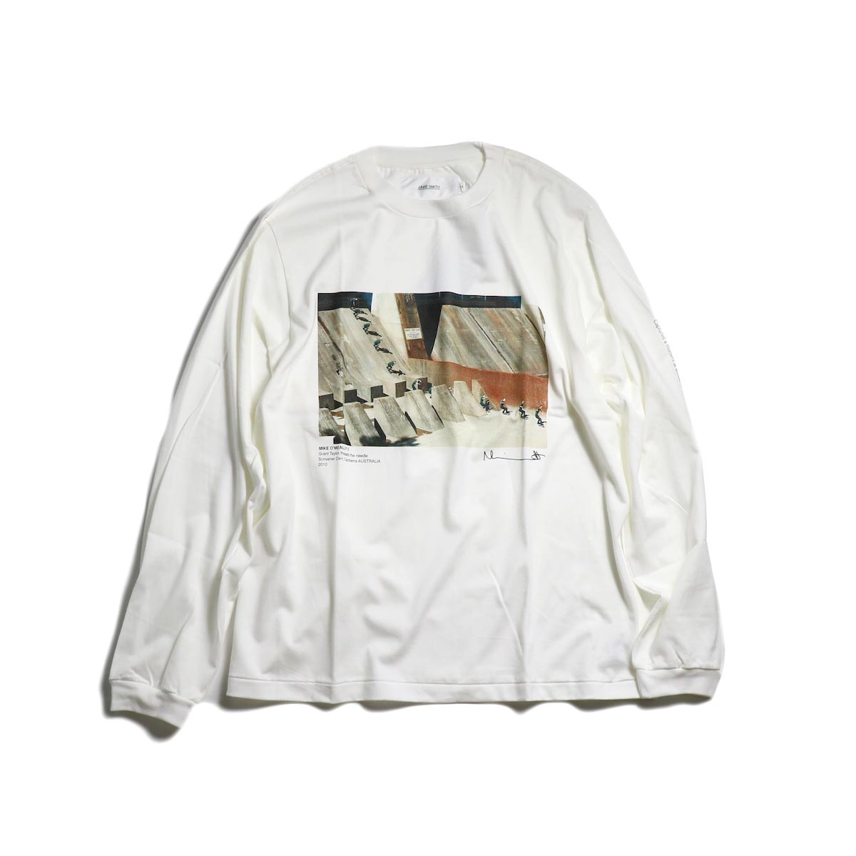 JANE SMITH / MIKE O'MEALLY THREAD THE NEEDLE L/S -White