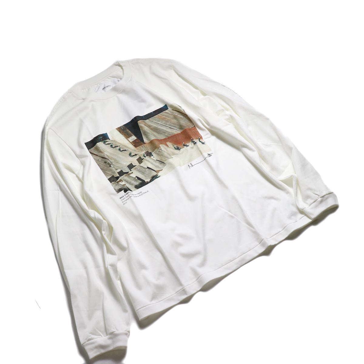 JANE SMITH / MIKE O'MEALLY THREAD THE NEEDLE L/S -White 全体