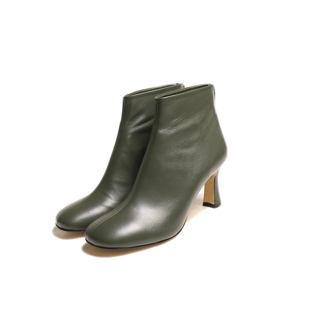 JANE SMITH / SHORT BOOTS -Khaki
