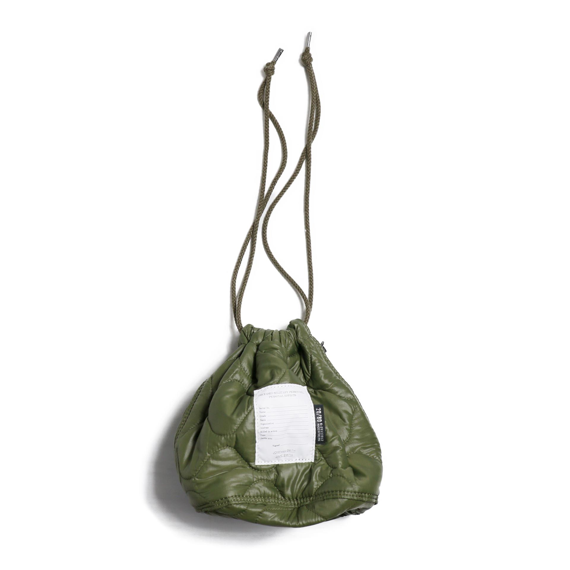 JANE SMITH / KINCHAKU BAG-KHAKI