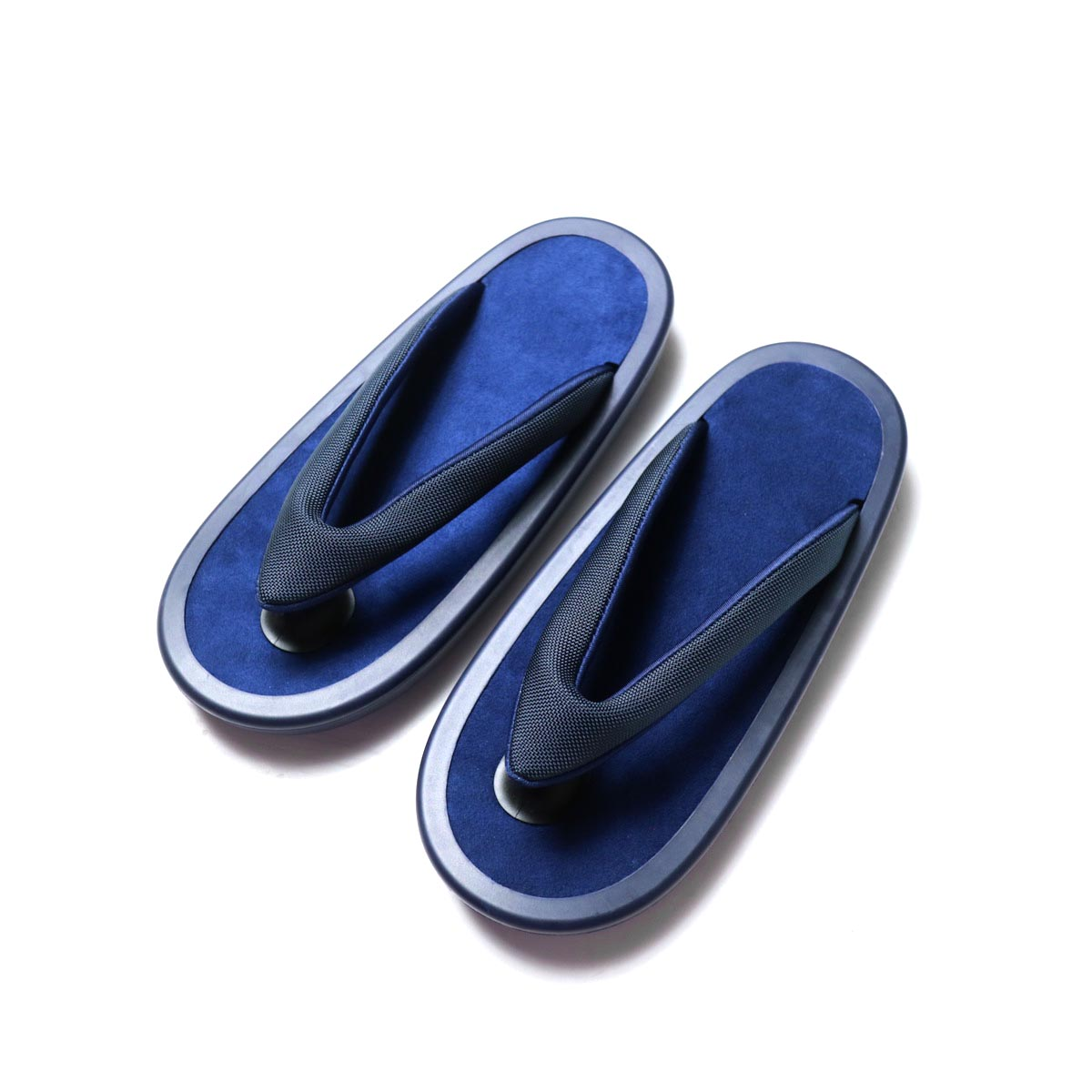 JOJO / Beach Sandal -Black (細鼻緒 / Navy Suede)