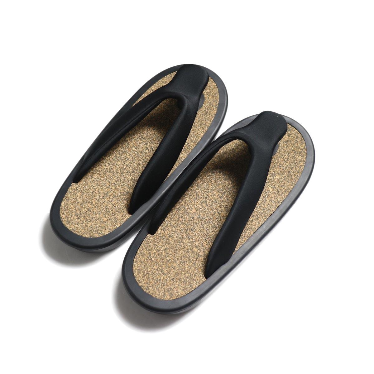 JOJO / SANDAL -Black (Black Cork) 背面