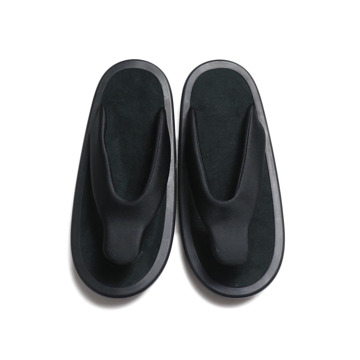 JOJO / Beach Sandal -Black (Black Suede)正面