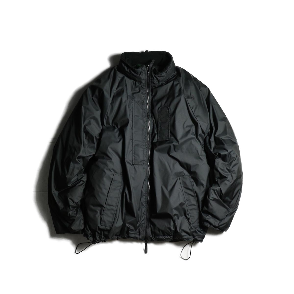 J&S Franklin / BRITISH ARMY PCS LIGHT WEIGHT DOWN JACKET (Black) 正面