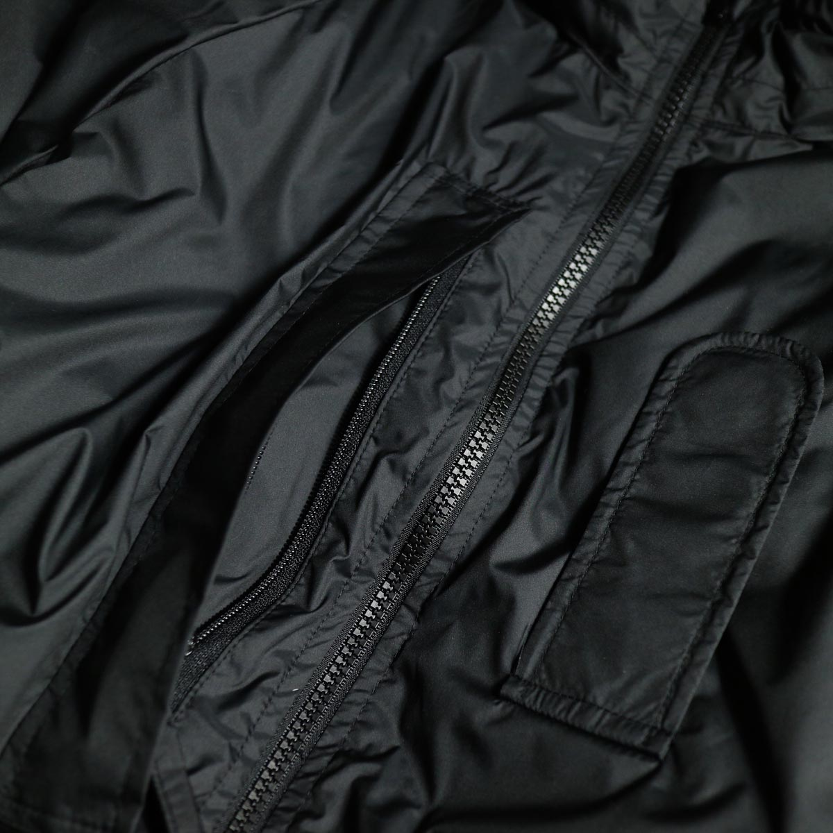 J&S Franklin / BRITISH ARMY PCS LIGHT WEIGHT DOWN JACKET (Black) ポケット