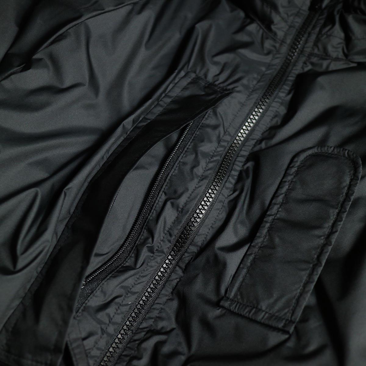 J&S Franklin / BRITISH ARMY PCS LIGHT WEIGHT DOWN JACKET (Black) ポケット