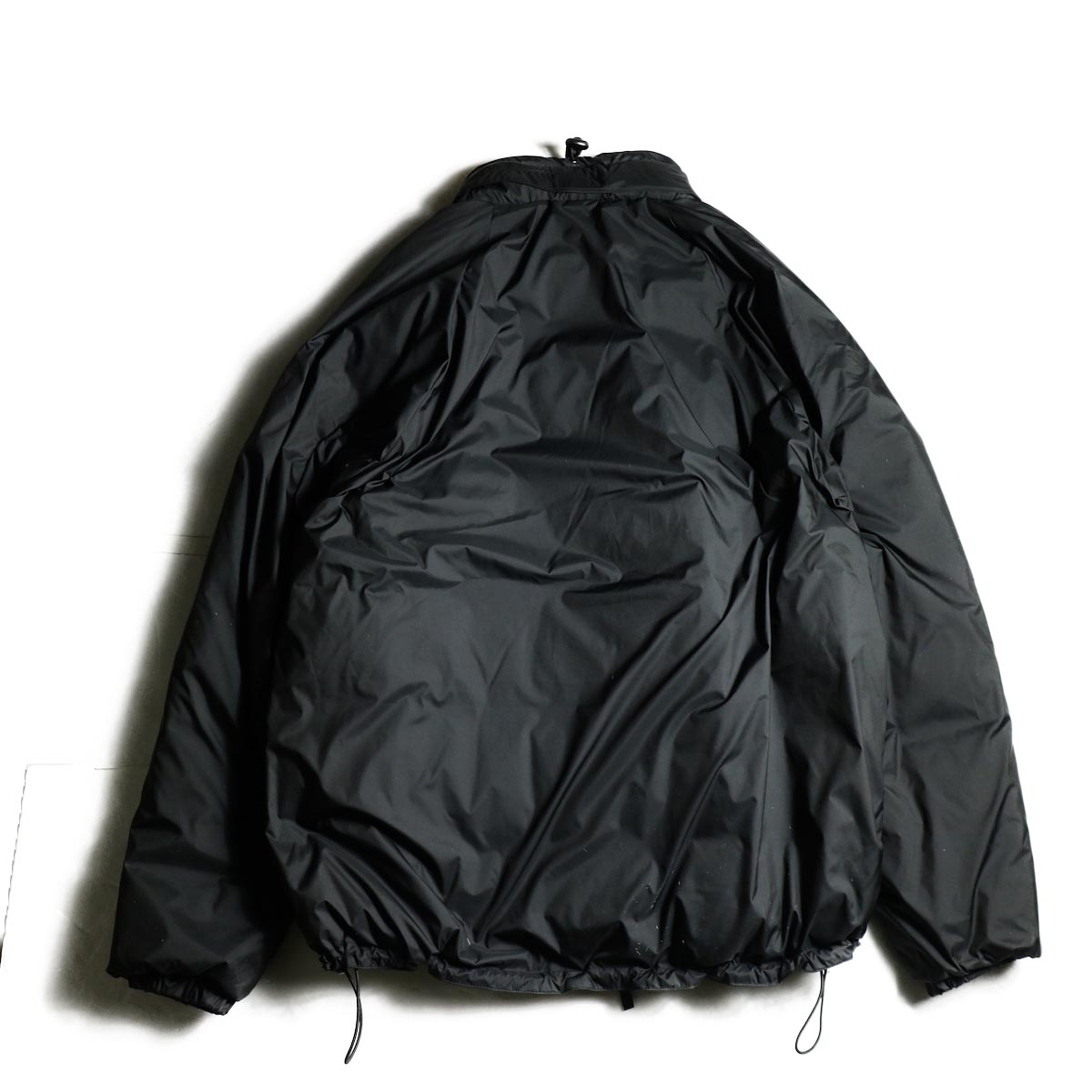 J&S Franklin / BRITISH ARMY PCS LIGHT WEIGHT DOWN JACKET (Black) 背面