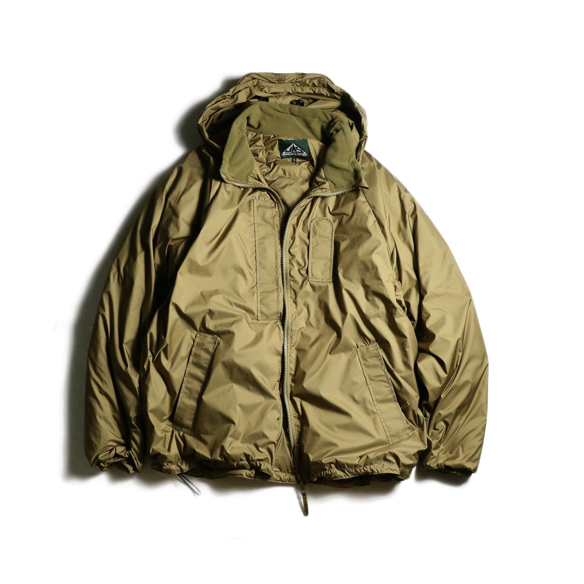 J&S Franklin / BRITISH ARMY PCS LIGHT WEIGHT DOWN JACKET (Coyote)正面