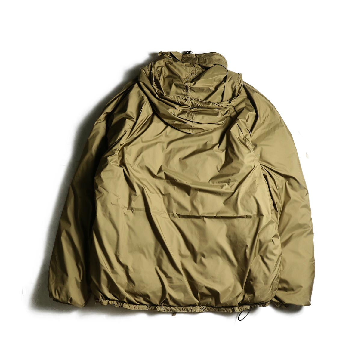 J&S Franklin / BRITISH ARMY PCS LIGHT WEIGHT DOWN JACKET (Coyote) 背面