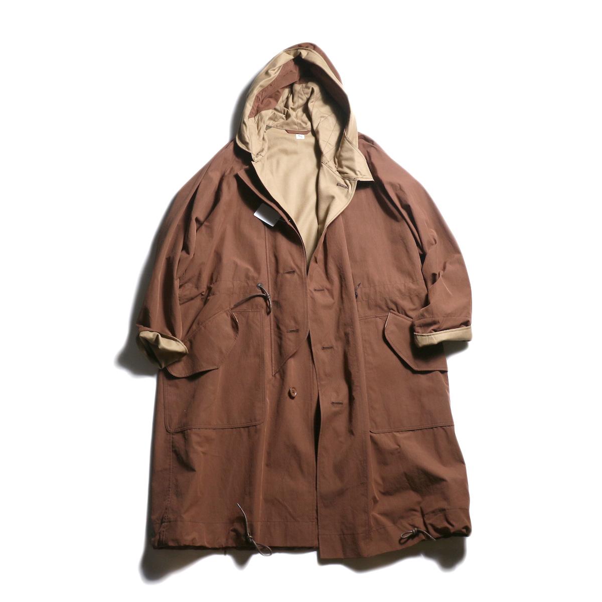 Kaptain Sunshine / All Weather Coat (Brick Brown)