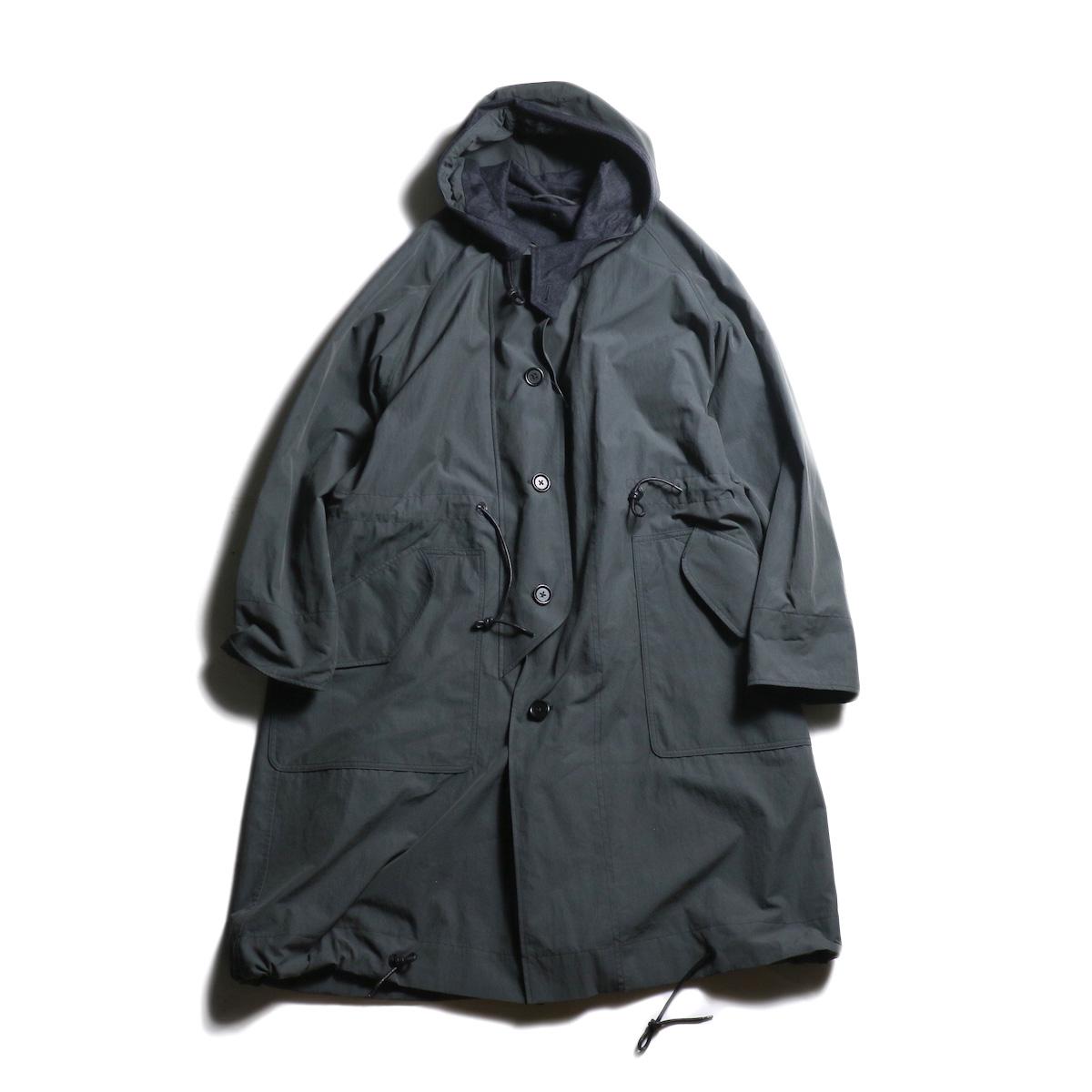 Kaptain Sunshine / All Weather Coat (Charcoal Gray)