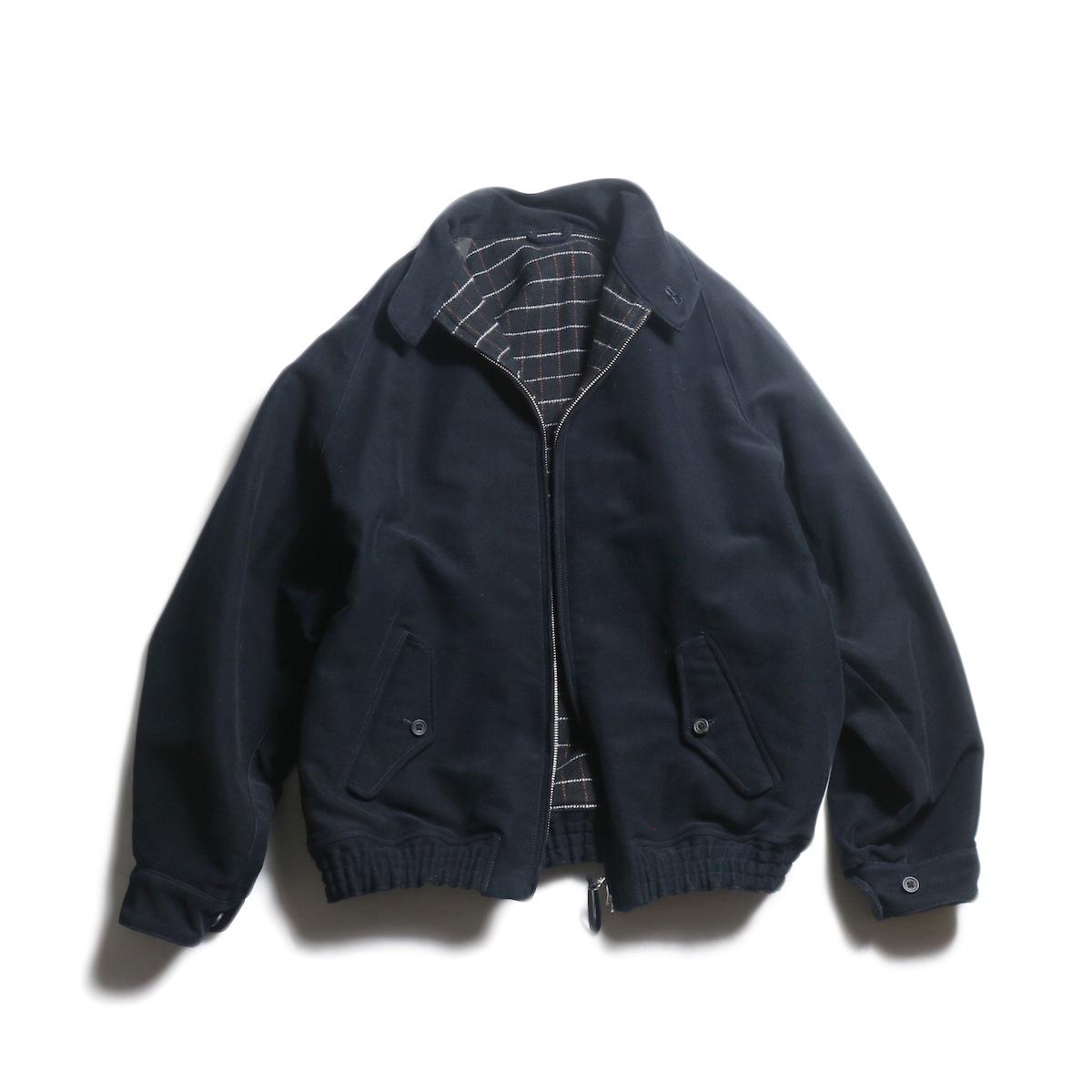 Kaptain Sunshine / Stand Collar Blouson (Dark Navy)