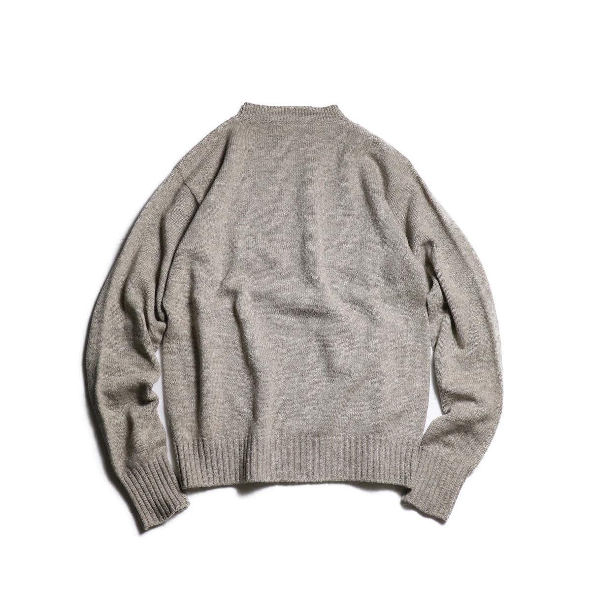 Kaptain Sunshine / Black Melino Crewneck Seemless P/O Sweater