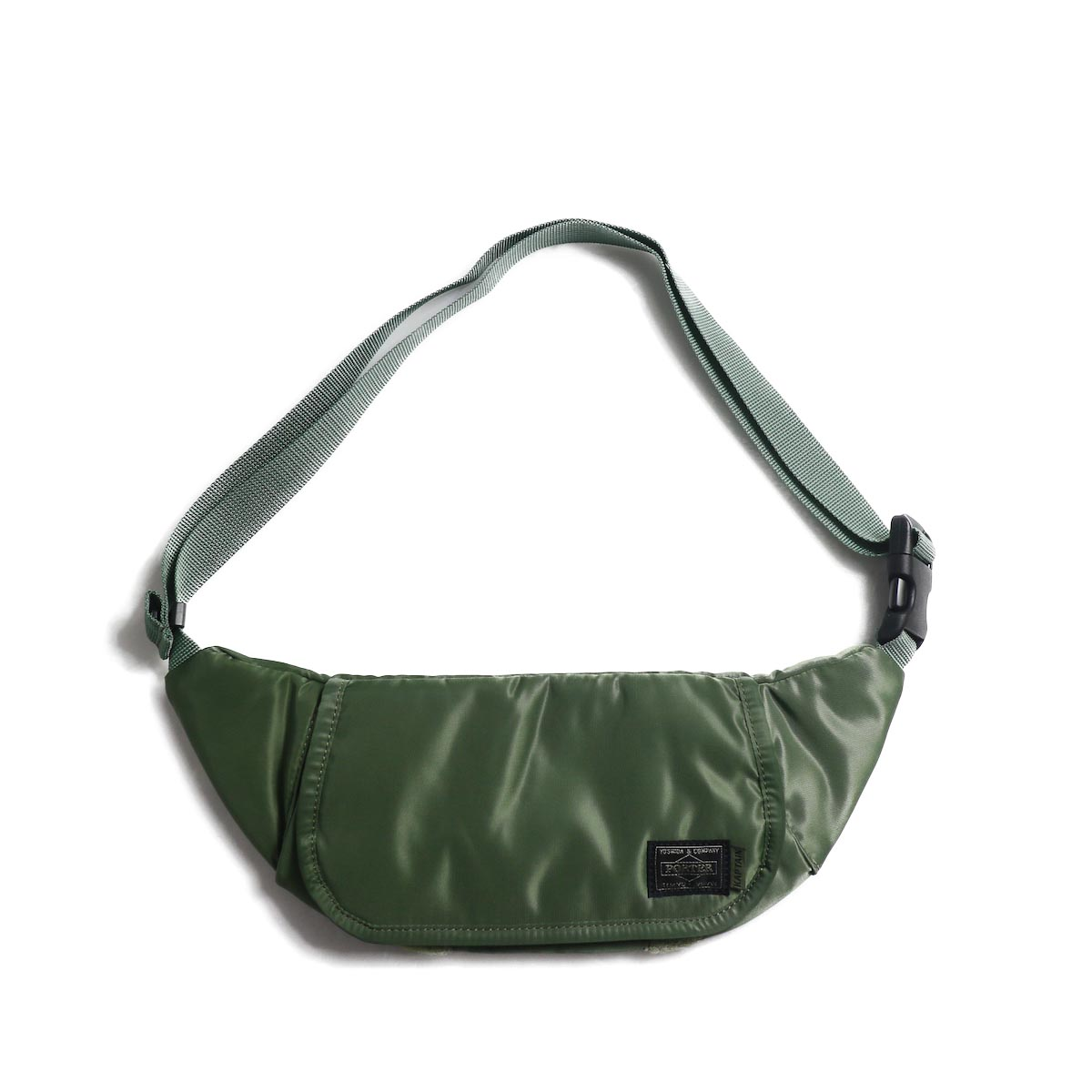 Kaptain Sunshine × Porter / Travellers Funny Bag -Airforce Green