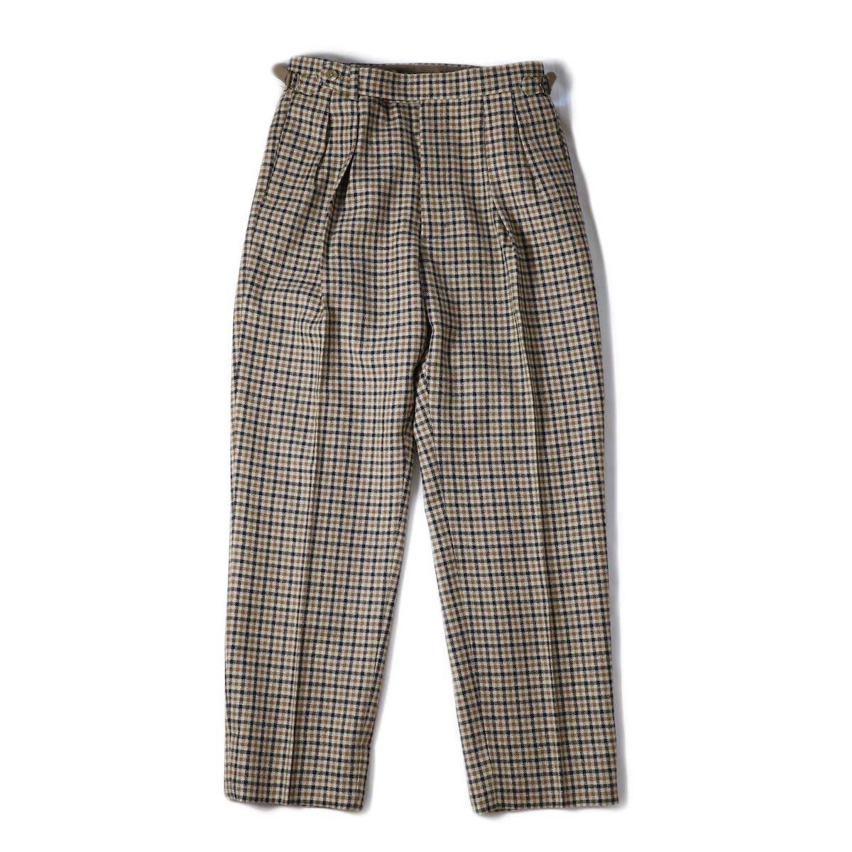 Kaptain Sunshine / Two Pleats Trousers