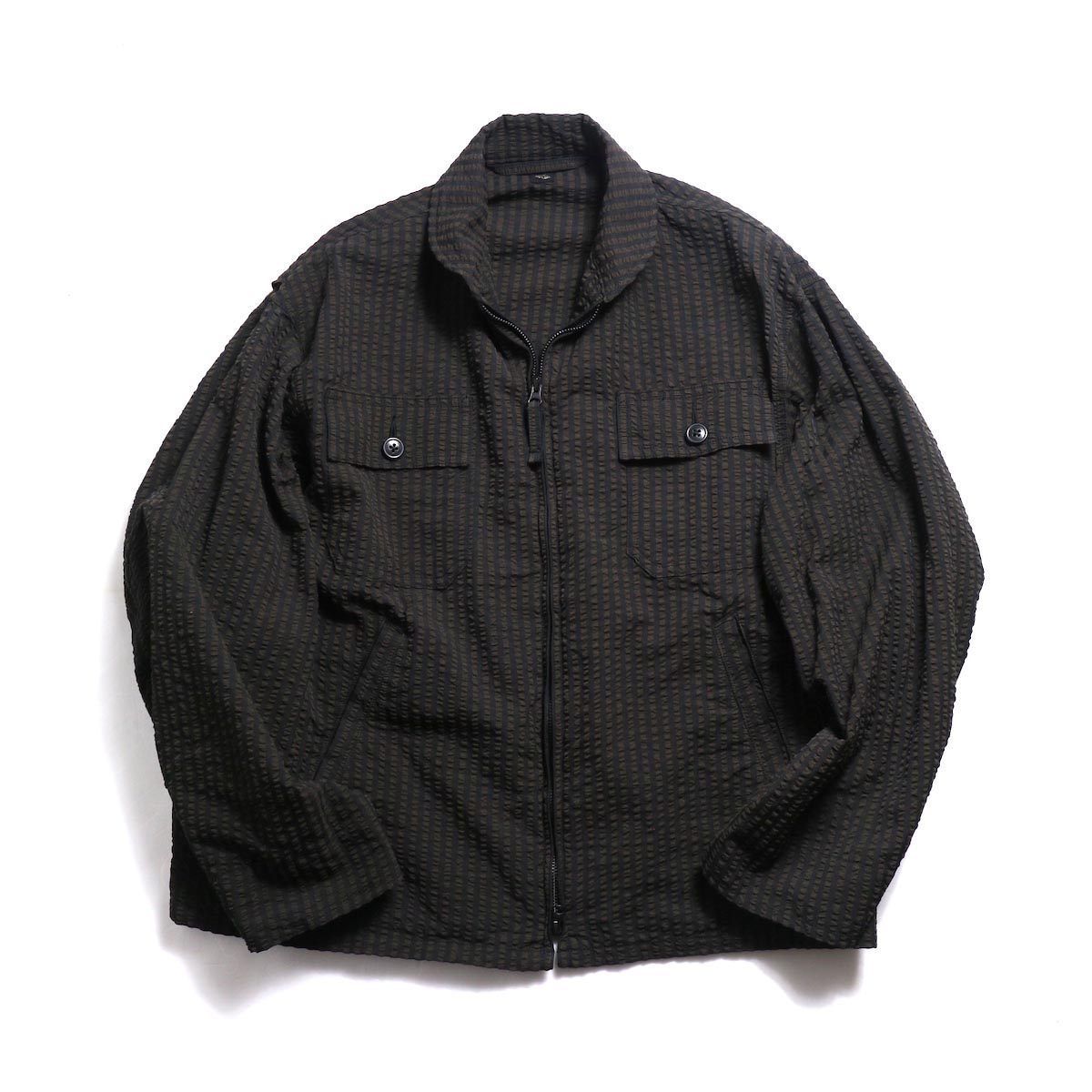 Kaptain Sunshine / Summer Flight Jacket -Black/Brown